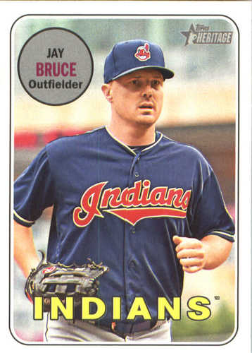 Photo of 2018 Topps Heritage #159 Jay Bruce