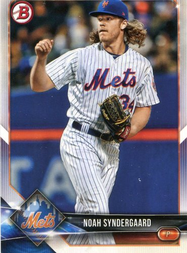 Photo of 2018 Bowman #21 Noah Syndergaard