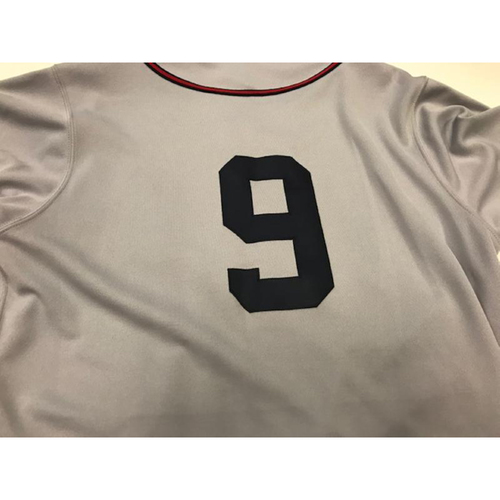 Photo of Game-Used Cleveland Buckeyes Jersey: Erik Gonzalez