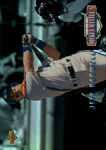 Photo of 1994 Upper Deck Mantle's Long Shots #MM1 Jeff Bagwell