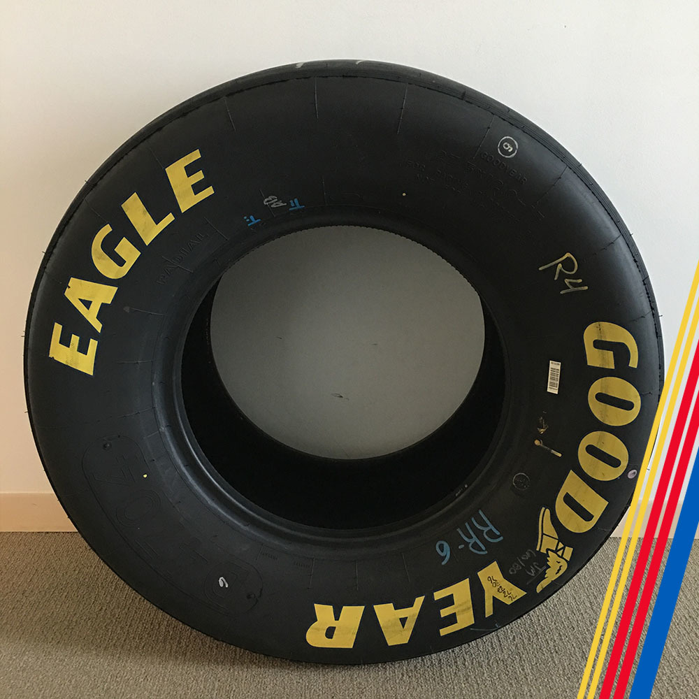 NASCAR's Kevin Harvick Goodyear Eagle Tire!