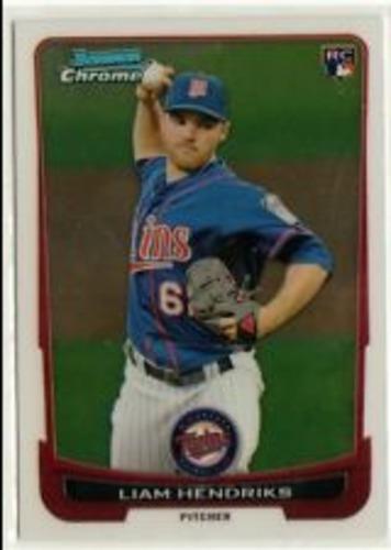 Photo of 2012 Bowman Chrome Draft #19 Liam Hendriks RC