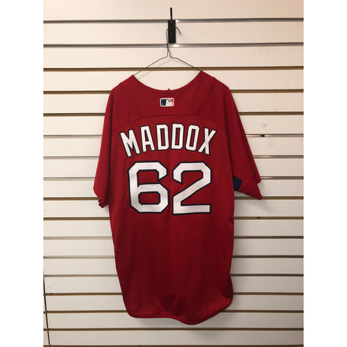 Photo of Austin Maddox Team-Issued Home Batting Practice Jersey