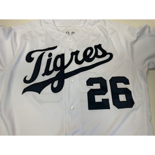 Photo of Team-Issued Fiesta Tigres Jersey: Zac Reininger