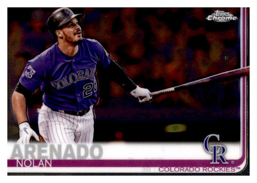 Photo of 2019 Topps Chrome #124 Nolan Arenado