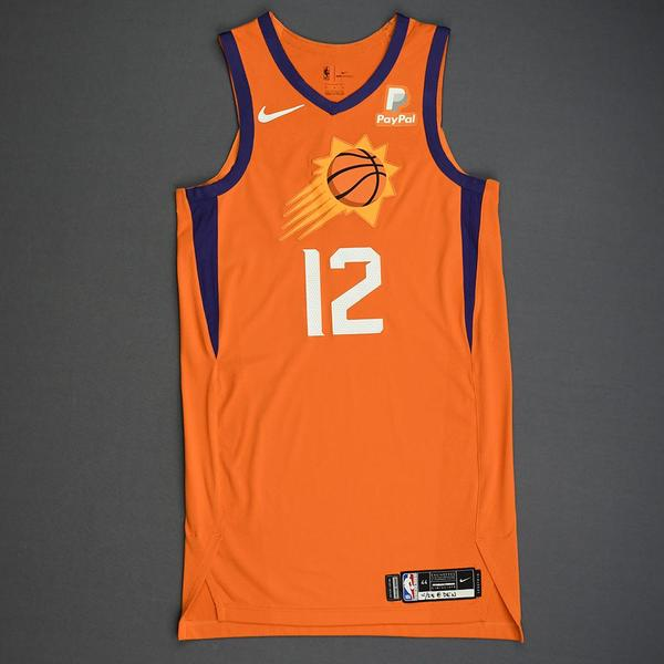 Image of Jared Harper - Phoenix Suns - Game-Worn Statement Edition Jersey - Dressed, Did Not Play - 2019-20 Season