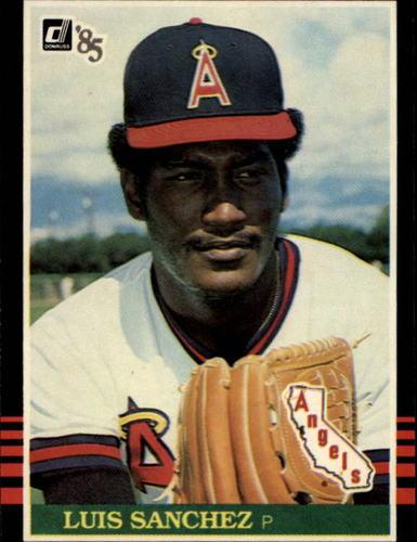 Photo of 1985 Donruss #352 Luis Sanchez