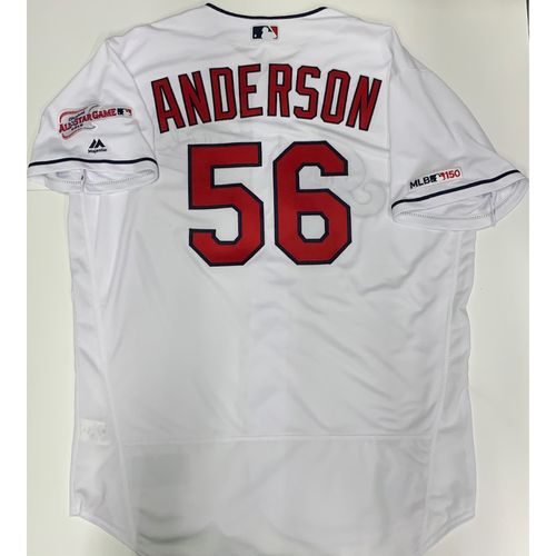 Photo of Cody Anderson Team Issued 2019 Home Jersey