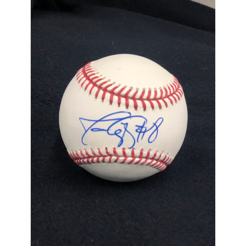 Photo of Javy Lopez Autographed Baseball