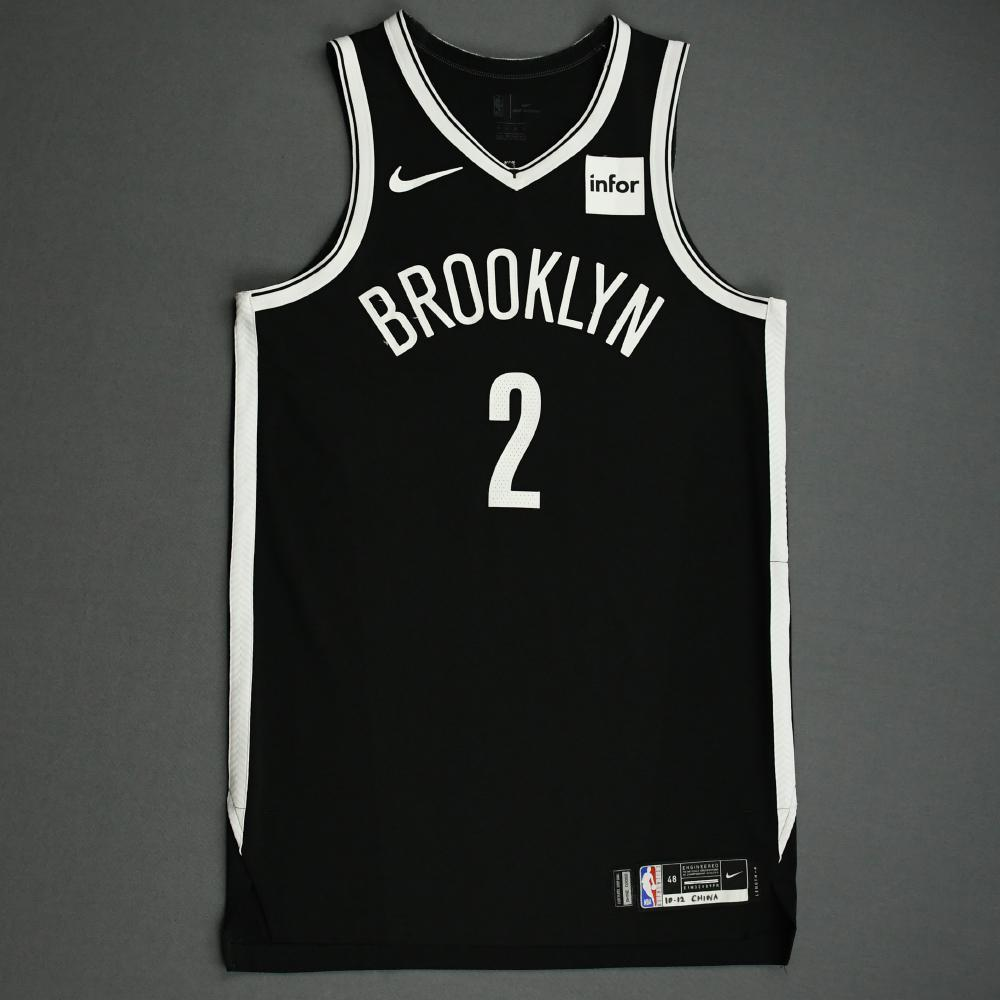 Taurean Prince - Brooklyn Nets - NBA China Games - Game-Worn Icon Edition Jersey - 2019-20 NBA Season