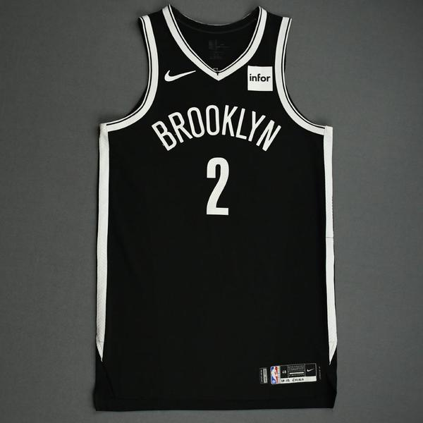Image of Taurean Prince - Brooklyn Nets - NBA China Games - Game-Worn Icon Edition Jersey - 2019-20 NBA Season