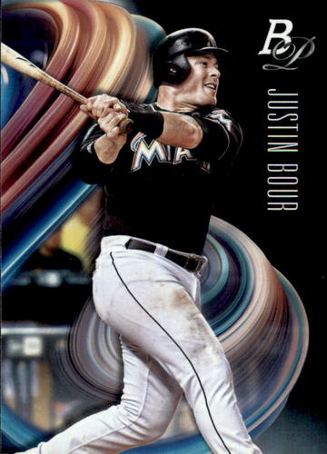 Photo of 2018 Bowman Platinum #99 Justin Bour