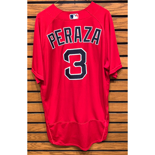 Photo of Jose Peraza Team Issued 2020 Spring Training Jersey