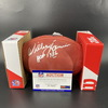 HOF - Chiefs Willie Lanier Signed Authentic Football with