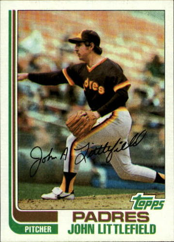 Photo of 1982 Topps #278 John Littlefield