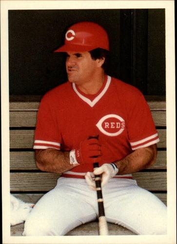 Photo of 1985 Topps Rose #22 Pete Rose/idol