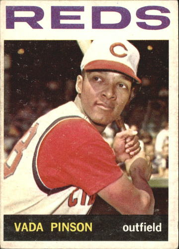 Photo of 1964 Topps #80 Vada Pinson