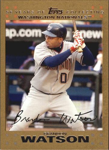 Photo of 2007 Topps Update Gold #316 Brandon Watson