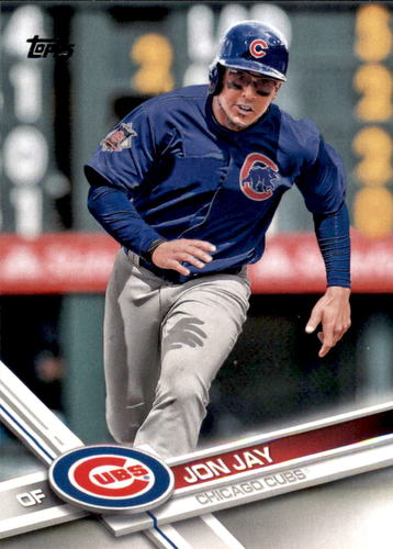 Photo of 2017 Topps #695 Jon Jay