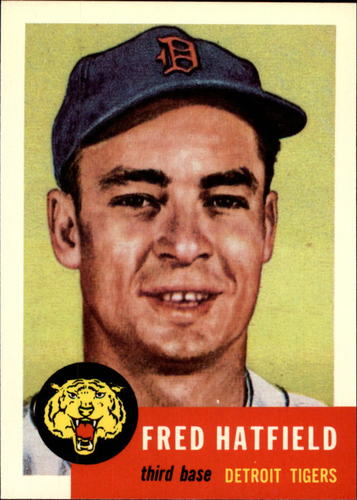 Photo of 1991 Topps Archives 1953 #163 Fred Hatfield