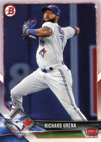 Photo of 2018 Bowman #23 Richard Urena -- Rookie Card