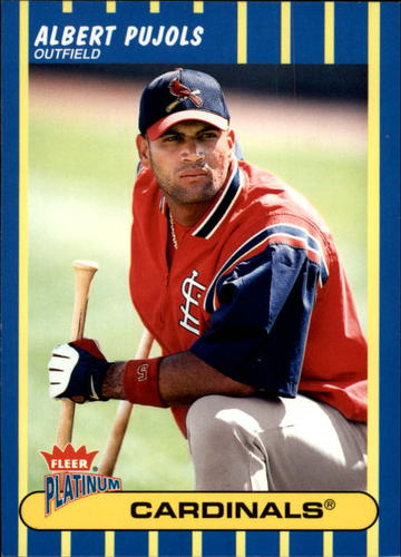 Photo of 2003 Fleer Platinum #54 Albert Pujols