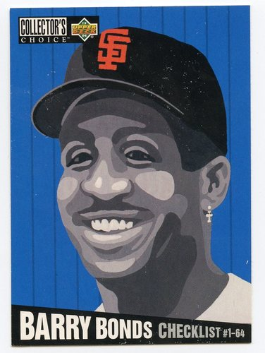 Photo of 1994 Collector's Choice #316 Barry Bonds CL