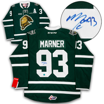Mitch Marner London Knights Autographed CCM Replica CHL Hockey Jersey 3be7bcfe2