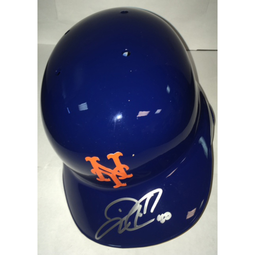 Photo of Wilson Ramos Autographed Mets Batting Helmet