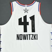 Dirk Nowitzki - 2019 NBA All-Star Game - Team Giannis - Autographed Jersey