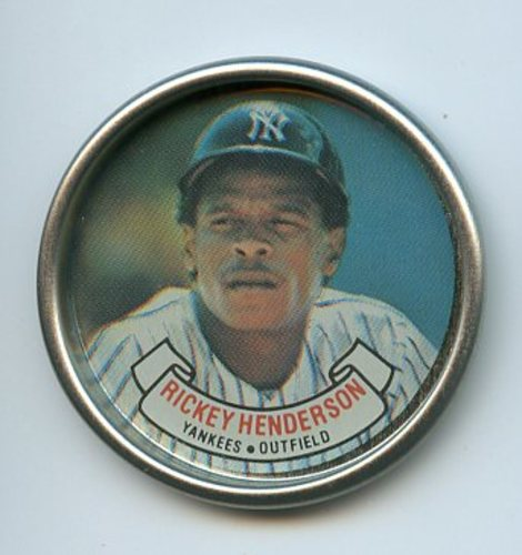Photo of 1987 Topps Coins #12 Rickey Henderson
