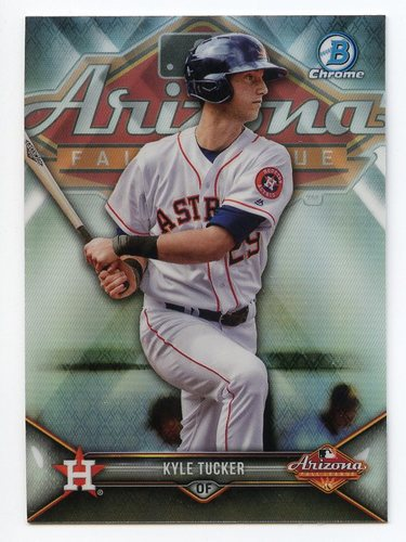 Photo of 2018 Bowman Chrome '17 AFL Fall Stars Refractors #AFLKT Kyle Tucker