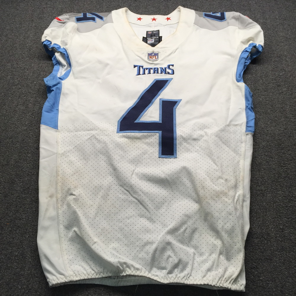 NFL Auction | London Games - Titans Ryan Succop Game Used Jersey ...