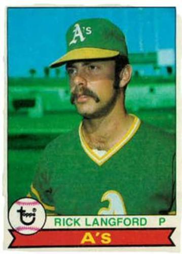 Photo of 1979 Topps #29 Rick Langford