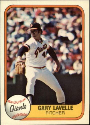 Photo of 1981 Fleer #448 Gary Lavelle