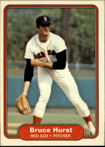 Photo of 1982 Fleer #297 Bruce Hurst
