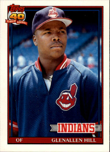 Photo of 1991 Topps Traded #55T Glenallen Hill