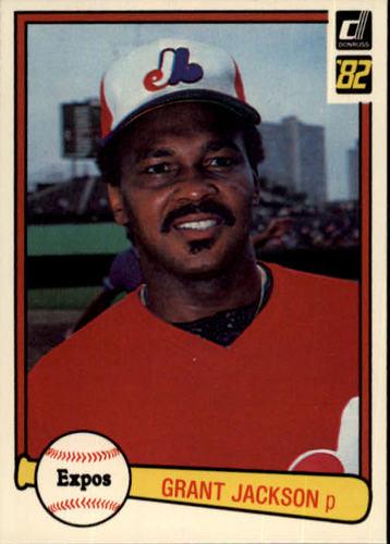 Photo of 1982 Donruss #518 Grant Jackson