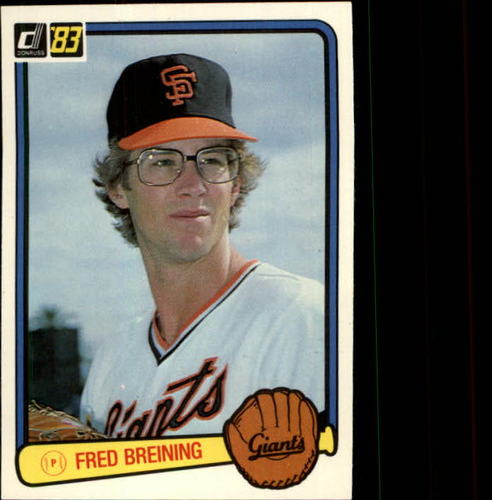 Photo of 1983 Donruss #503 Fred Breining