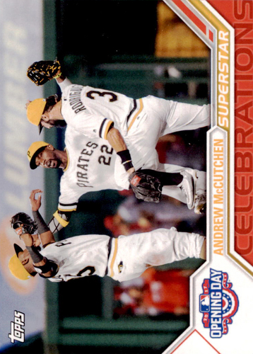 Photo of 2017 Topps Opening Day Superstar Celebrations #SC9 Andrew McCutchen