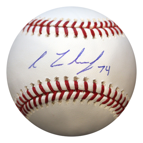 Photo of Autographed Baseball: Richard Lovelady