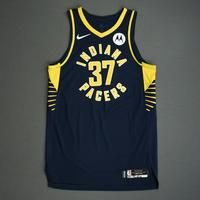 Amida Brimah - Indiana Pacers - Game-Worn Icon Edition Jersey - NBA India Games - 2019-20 NBA Season