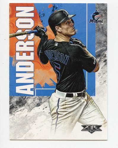 Photo of 2019 Topps Fire #108 Brian Anderson