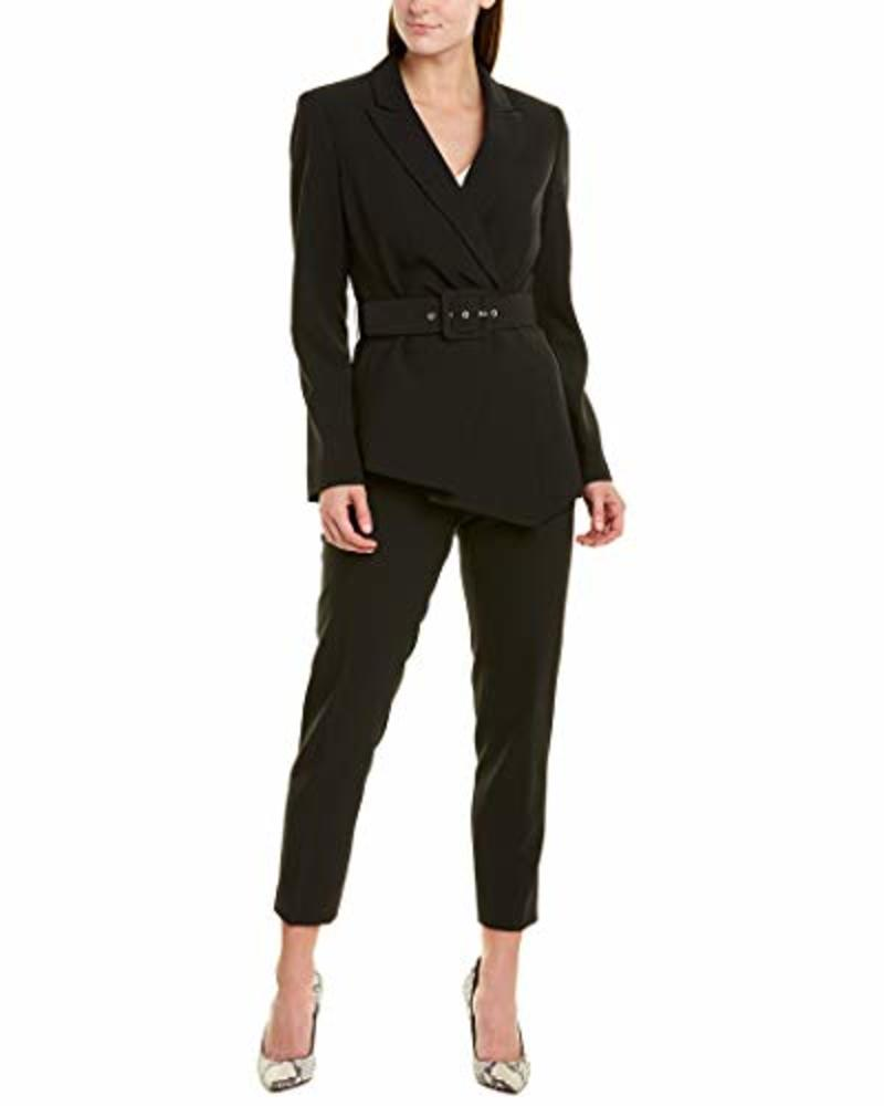 Photo of Tahari Asl Pleated-Blazer Pants Suit