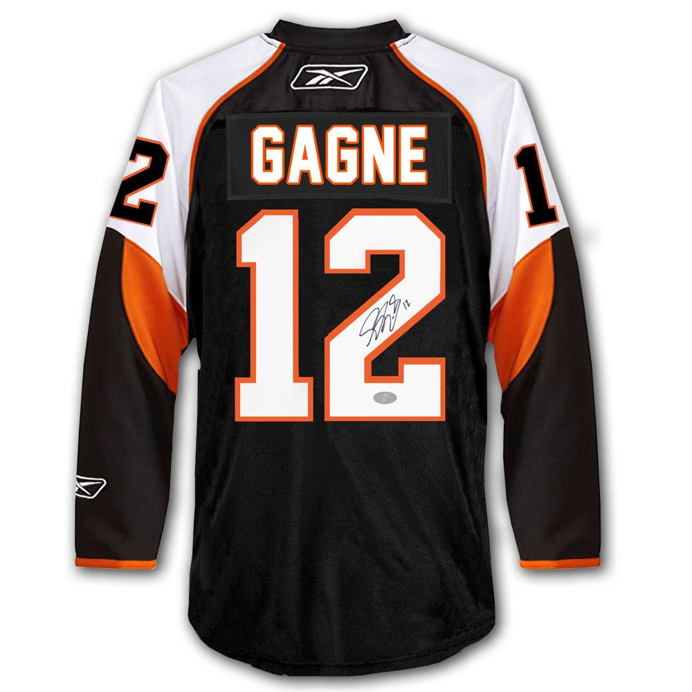 Simon Gagne Philadelphia Flyers RBK Premier Autographed Jersey