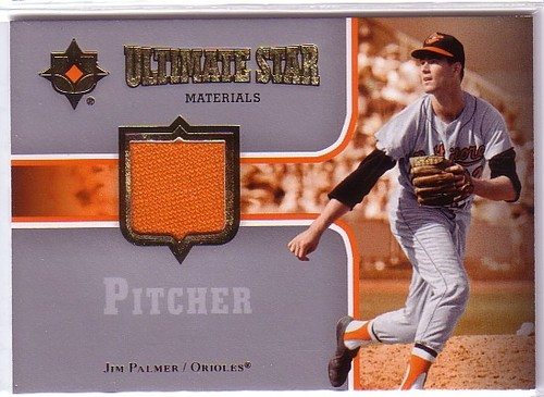 Photo of 2007 Ultimate Collection Ultimate Star Materials #PA Jim Palmer