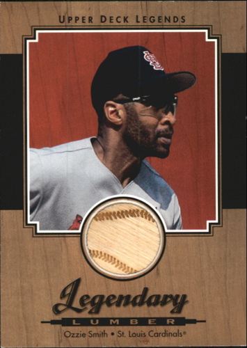 Photo of 2001 Upper Deck Legends Legendary Lumber #LOS Ozzie Smith