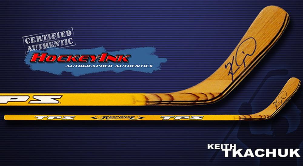 KEITH TKACHUK St. Louis Blues Signed Hockey Stick