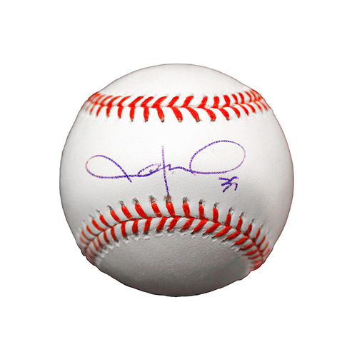 Photo of Jason Hammel Autographed Baseball