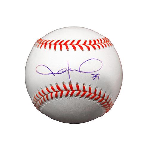 Jason Hammel Autographed Baseball